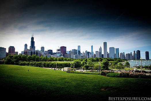 Chicago Skyline by Jason Feldman