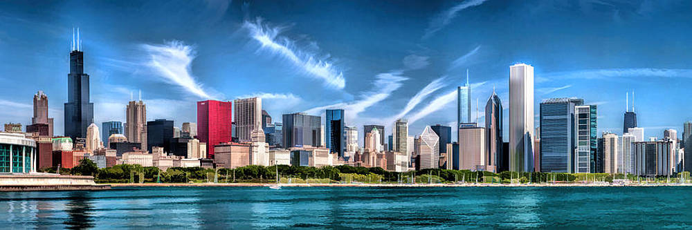 Christopher Arndt - Chicago Skyline Panorama