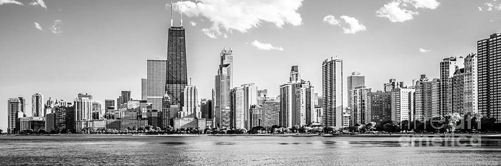 Paul Velgos - Chicago Skyline Panoramic Picture of Gold Coast