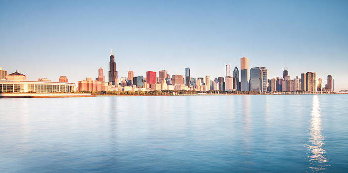 Chicago Skyline by Tomasz Worek