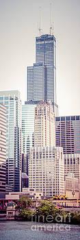 Paul Velgos - Chicago Vertical Panorama of Sears Willis Tower