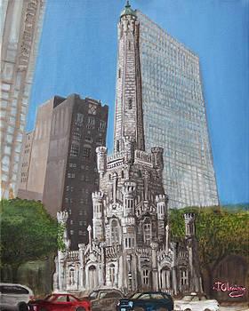 Chicago Water Tower by Jeffrey Oleniacz