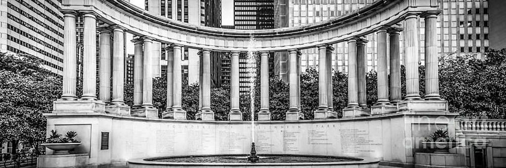 Paul Velgos - Chicago Wrigley Square Millennium Monument Panorama Photo