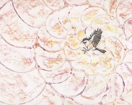 Chickadee dee dee by Sara Bell