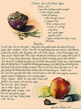 Chickpeas Soup with Apples by Alessandra Andrisani
