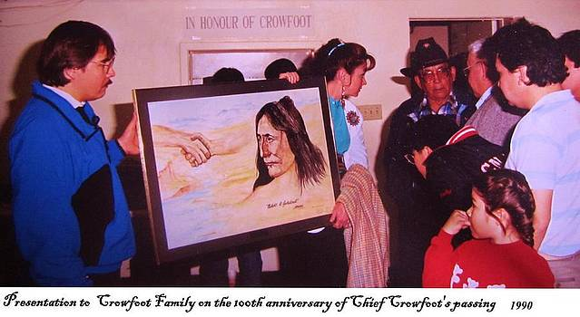 Chief Crowfoot by Cathy Long