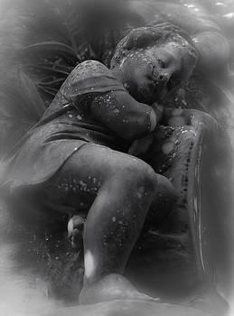 Child Statue by Jennifer Burley