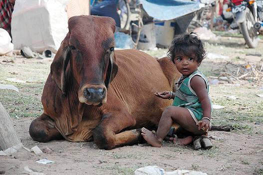 Childhood by Mahendra Mithapara