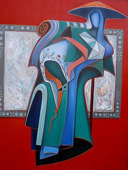 China Blue by Carlos Sandoval