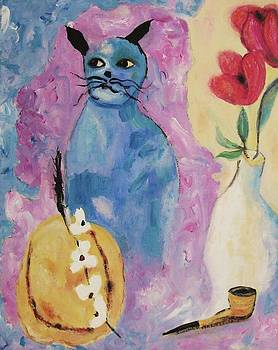 Suzanne  Marie Leclair - China Blue Cat