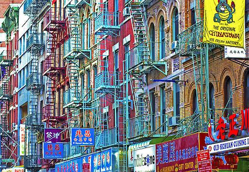 Chinatown Ladder by Scott Logel