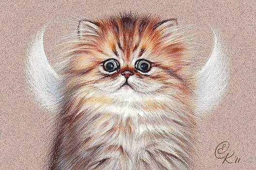 Elena Kolotusha - Chinchilla kitten angel