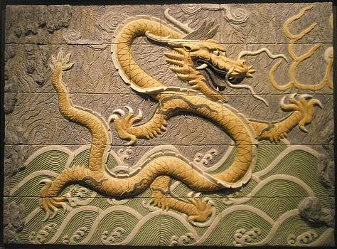 Chinese dragon.  by Jose Manuel Solares