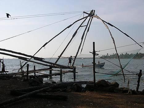 Chinese fishing net by Joe Zachariah