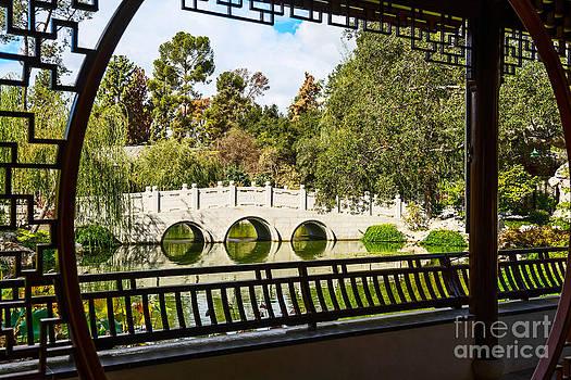 Jamie Pham - Chinese Garden Window