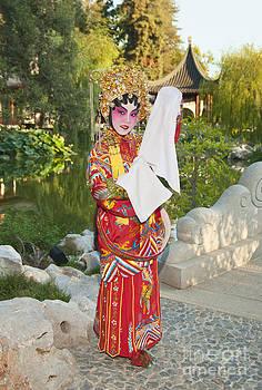 Jamie Pham - Chinese Opera Girl - In full traditional Chinese Opera costumes.