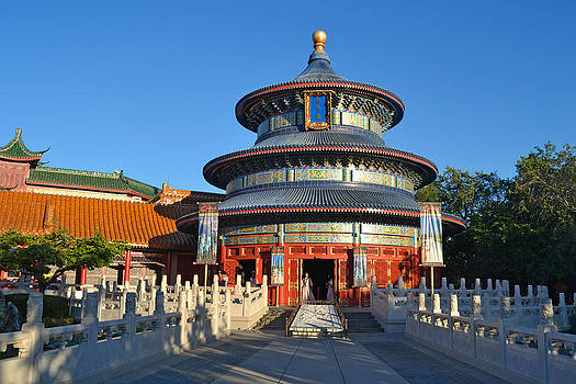 Chinese Pavillion by Harold Shull