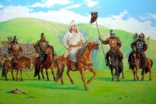 Chinggis Khan by Tsogbayar Chuluunbaatar