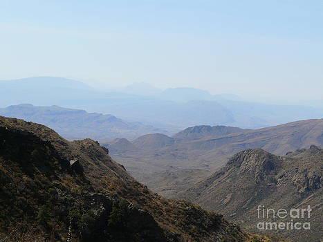 Chisos Mountain View by Avis  Noelle