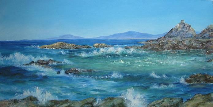 Choppy Waters by Rita Palm