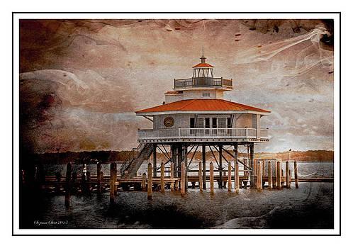 Choptank River Lighthouse by Suzanne Stout