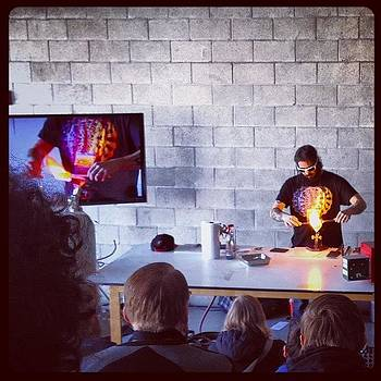 @chrisaugustcarlson Teaching Us How To by Coyle Glass