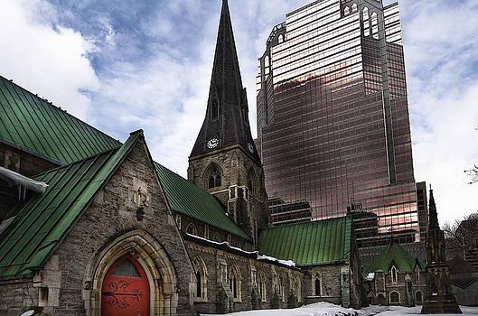 Christ Church Montreal by Jean-Louis Delhaye