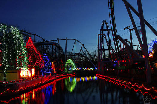 Christmas at Hershey Park by David Simons