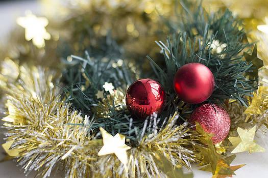 Christmas baubles by Jocelyn Friis