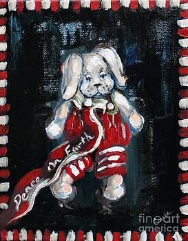 Christmas Bunny by Carrie Joy Byrnes