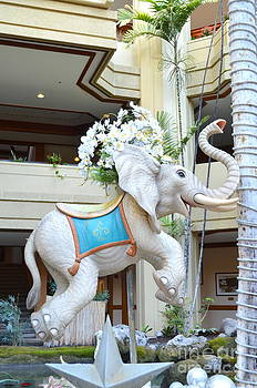Mary Deal - Christmas Carousel Elephant