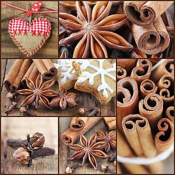 Christmas collage by Jelena Vasjunina