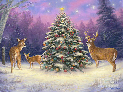 Christmas Deer by Chuck Pinson