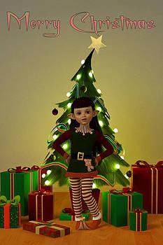 Liam Liberty - Christmas Elf - Merry Christmas