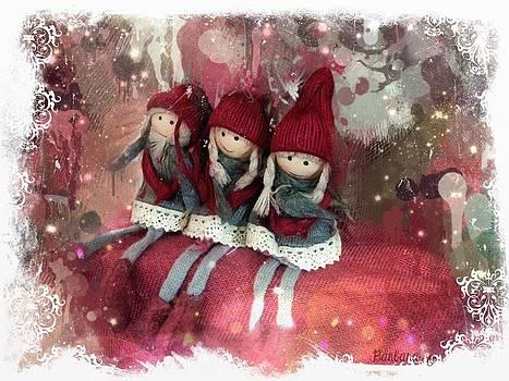 Barbara Orenya - Christmas elves