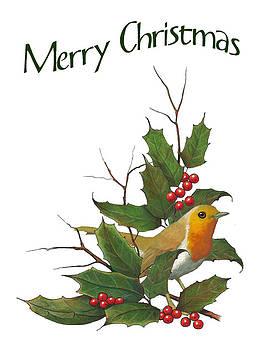 Joyce Geleynse - Christmas English Robin Holly