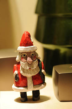 Christmas Figurine II by Harold E McCray