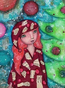 Christmas girl by Barbara Orenya