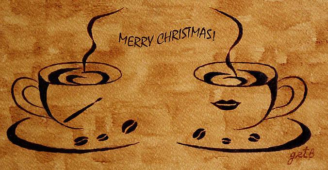 Christmas Greeting by Georgeta  Blanaru