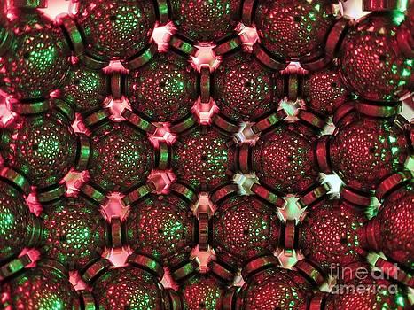 Christmas hexagonal lattice by Mark Teeter