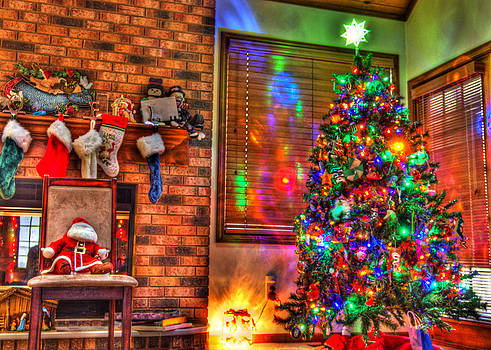 Christmas in HDR by Tim Buisman