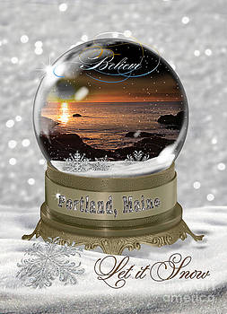 Brenda Giasson - Christmas in Portland Maine