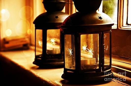 Christmas Lanterns by Daniela White