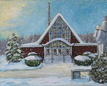 Christmas Morning at Our Lady's Church by Rita Brown