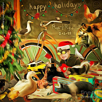 Wingsdomain Art and Photography - Christmas Mornings Are Magic 20140923 square