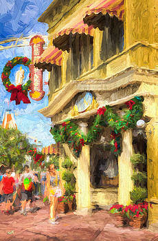 Christmas On Main by Michael Petrizzo