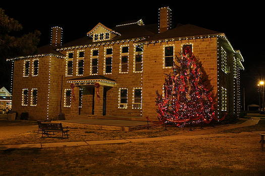 Christmas on the square by Edward Hamilton