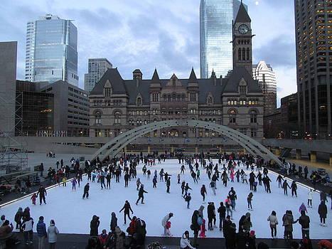 Alfred Ng - Christmas skating at City Hall