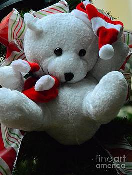Christmas Teddy Bear by Kathleen Struckle