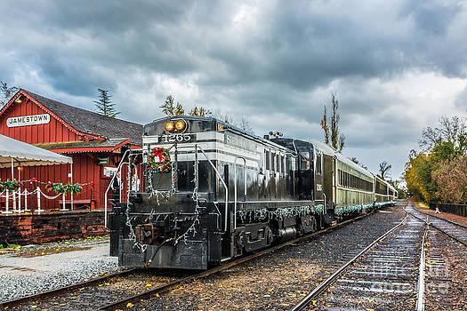 Christmas Train by Daniel Ryan
